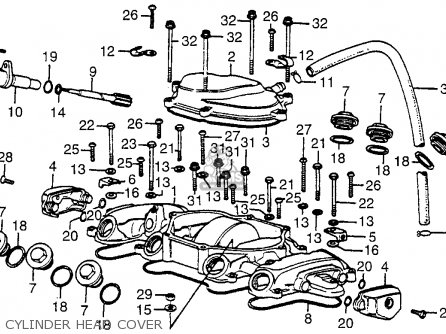 Honda Cb550f Super Sport 550 Four 1976 Usa Parts Lists And Schematics