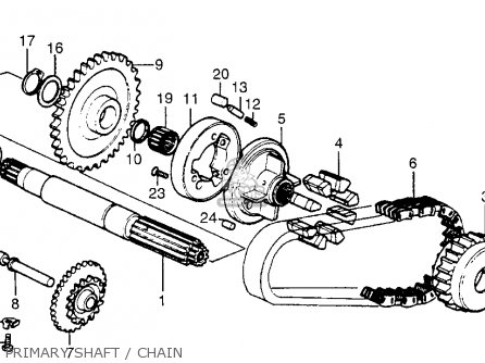 Partslist besides Partslist likewise Partslist besides Honda Cm250c Custom 1982 Usa Crankshaft Piston further Partslist. on honda cm250c
