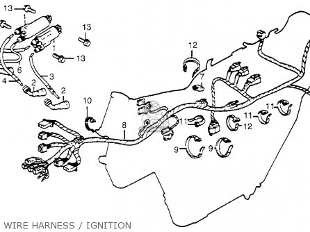 honda cb650 1979 usa parts list partsmanual partsfiche. Black Bedroom Furniture Sets. Home Design Ideas