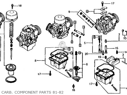 honda cb650 1982 usa carb component parts 81 82_mediumhu0134e0a1901_088a 1986 honda rebel wiring harness diagram 1986 find image about,85 Honda Rebel Wiring Diagram