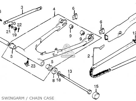 Honda Cb650sc Nighthawk 1982 C Usa Parts Lists And Schematics
