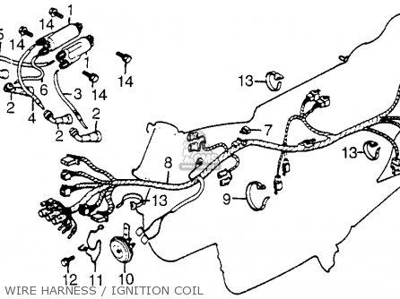 1980 Honda Cb650 Spark Plug Wire Diagram