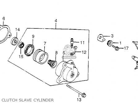 Honda Cb650sc Nighthawk 1983 d Usa Clutch Slave Cylinder