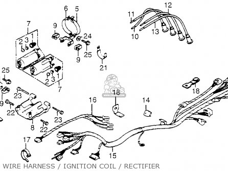 Rebel Wiring Harness Diagram on wiring diagram honda fury