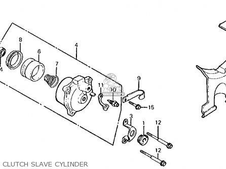 Honda Cb700sc 1986 Nighthawk S Usa Clutch Slave Cylinder