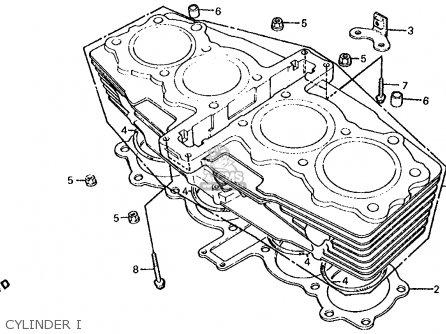 Honda Cb700sc Nighthawk S 1986 g Usa Cylinder I