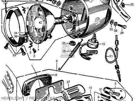 71 Honda Cb