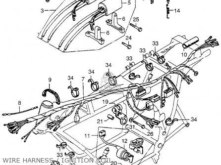 honda cb750 four k5 1975 usa parts list partsmanual partsfiche. Black Bedroom Furniture Sets. Home Design Ideas