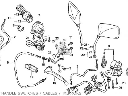 honda cb750 fuel line diagram