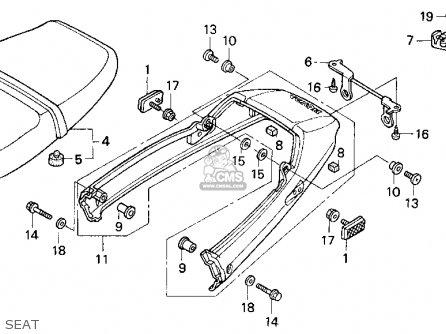 Honda Cb750 Nighthawk 1991 M Usa Parts Lists And Schematics