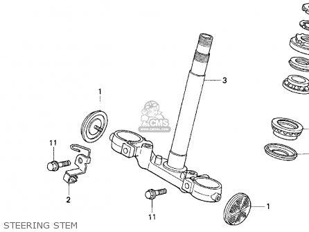Honda Cb750 Nighthawk 1991 Usa Steering Stem