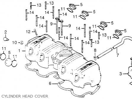 honda cb750a 750 hondamatic 1976 usa parts list