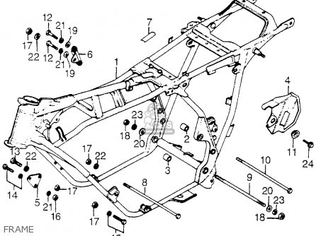 honda cb750a 750 hondamatic 1978 usa parts lists and schematics Schematic Dodge Durango honda cb750a 750 hondamatic 1978 usa frame