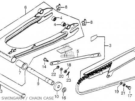 Honda Cb A Hondamatic Usa Swingarmchain Case Mediumhu F Af