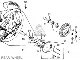 Partslist further Partslist additionally Partslist likewise Honda 750 Carburetor additionally Frame Schematic Honda Cb750c 750 Custom 1982 Usa. on honda cb750c parts