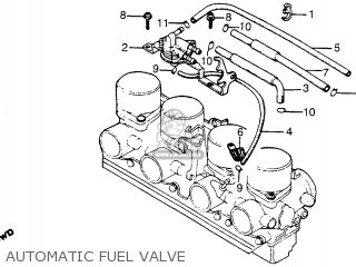 Partslist together with Honda Cbx1000c Super Sport 1982 Germany Parts Lists together with Honda Cb400 Carburetor additionally Honda Cb400 Carburetor additionally Honda Cb750c 750 Custom 1982 Usa Automatic Fuel Valve. on 1982 honda cb750c
