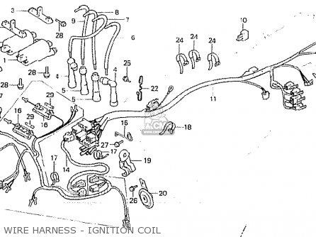 1980 honda cb750 wire diagram coil  | 446 x 334