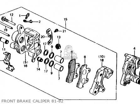 Honda Cb750f 750 Super Sport 1981 Usa Sport Control Kit