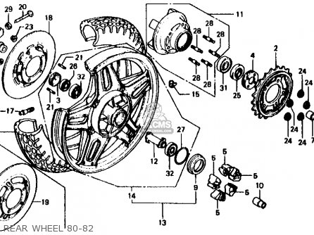 honda cb750f 750 super sport 1982 c usa rear wheel 80 82_mediumhu0129f5z1301_14df c3 corvette belt diagram c3 find image about wiring diagram,82 Corvette Wiring Diagram