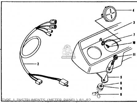 Honda Cb750f 750 Super Sport 1982 C Usa Parts Lists And Schematics