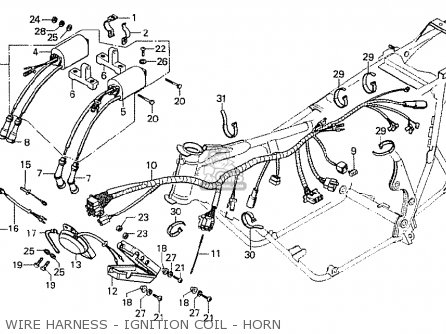 332977 additionally 1956 Ford Victoria Wiring Diagram additionally Lionel Exploded Diagrams together with Turn Signal Relocation Kit Harley Sportster together with 99 Integra Fuel Filter. on harley horn wiring diagram