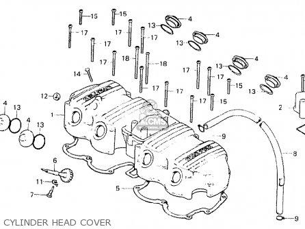 honda cb750f1 super sport 1976 england cylinder head cover