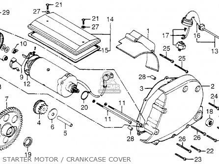 Honda Cb750f2 750 Super Sport 1977 Usa Parts Lists And Schematics
