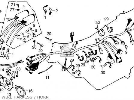 honda cb750f2 750 super sport 1977 usa parts lists and schematics. Black Bedroom Furniture Sets. Home Design Ideas