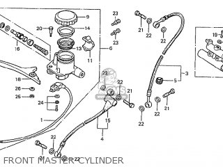 Honda Cb750f2 Supersport european Direct Sales Front Master Cylinder