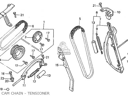 Honda Cb750fa france Cam Chain - Tensioner