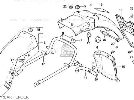 Honda Cb750k 1979 Z Four England Parts Lists And Schematics