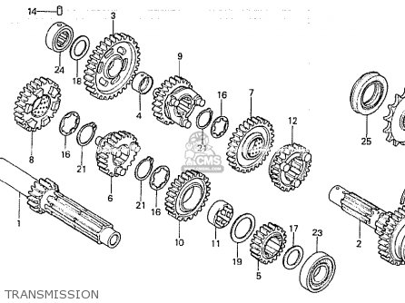 Honda Cb750k Engine Diagram Honda CB750 Engine Diagram