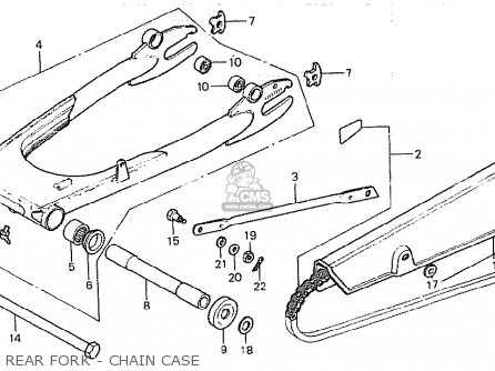 honda cb750k 1981  b  four germany parts list partsmanual