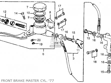 Honda Goldwing Ignition Switch Wiring Diagram