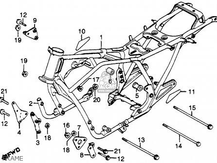 Honda Cb750k 750 Four K 1979 Usa Frame