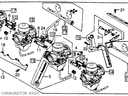 Honda Cb750k 750 Four K 1979 Z Usa Parts Lists And Schematics