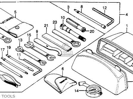 Honda Cb750k 750 Four K 1979 Z Usa Parts Lists And Schematics
