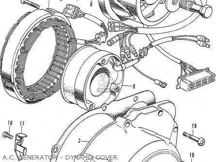 Honda Cb750k0 Four 1969 Usa Parts Lists And Schematics