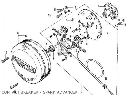 Honda Cb Wiring Diagram Automotive