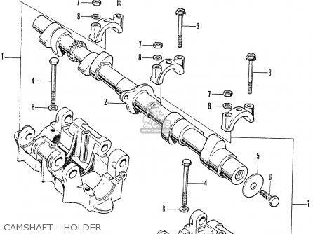 Honda Cb750k2 Four France Camshaft - Holder