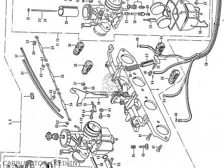 Honda Cb750k2 Four France Carburetor keihin