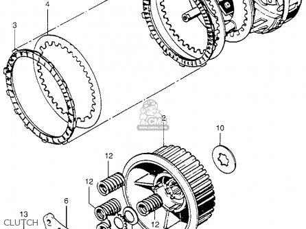 Honda Cb750k5 Four 1975 Usa Parts Lists And Schematics