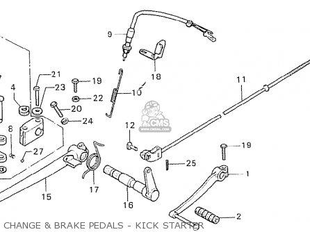Cb750 Front Fork Diagram