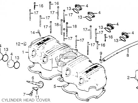 honda cb750k7 four 1977 usa parts lists and schematics. Black Bedroom Furniture Sets. Home Design Ideas