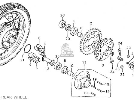 Honda Trail 70 Engine additionally Wiring Diagram For Quad Lnb likewise Front Wheel Spacer together with Partslist in addition Porsche 918 Engine Diagram. on bike horn wiring diagram
