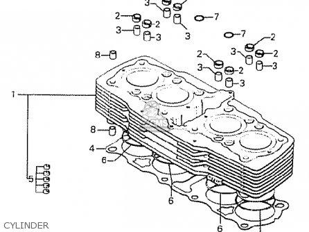 Honda Cb750k8 Four Usa Parts Lists And Schematics