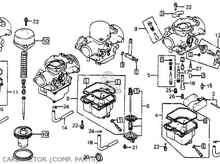 honda cb750sc nighthawk 750 1982 (c) usa parts lists and ... cj 750 wiring diagram
