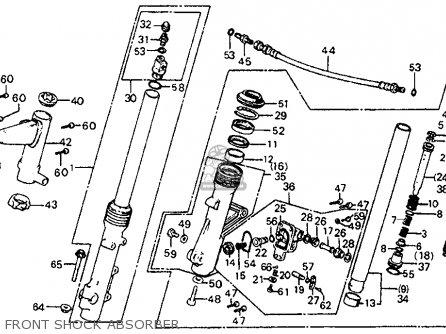honda cb750sc nighthawk 750 1983  d  usa parts list
