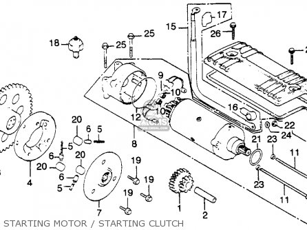 honda cb900c 900 custom 1981 (b) usa parts list ... 1981 k10 wiring diagram