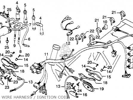 honda cb900c 900 custom 1981  b  usa parts lists and